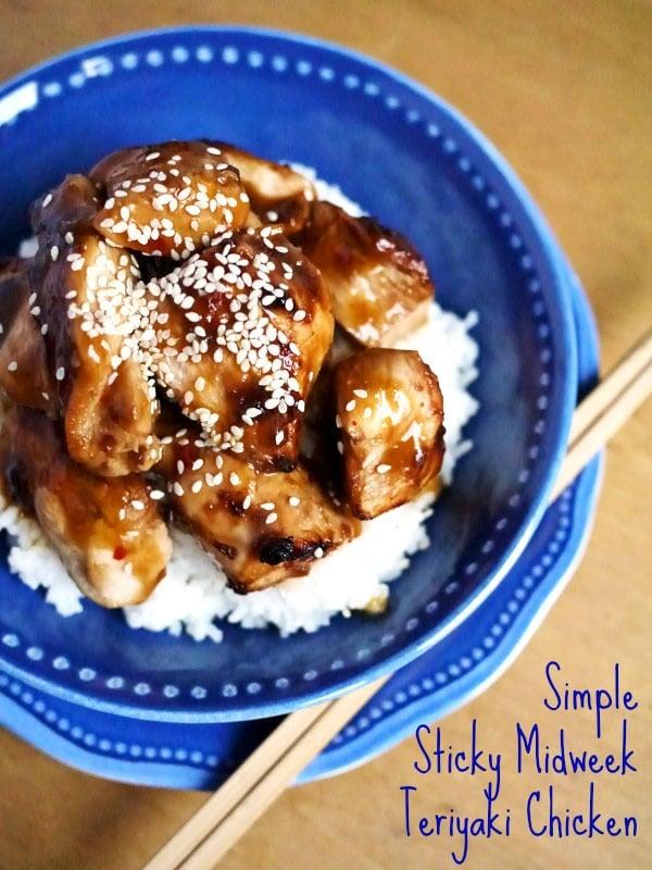 Simple Sticky Midweek Chicken Teriyaki Recipe