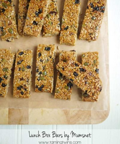 Top Bananas! Mumsnet Recipe Book Review with Lunch Box Bars Recipe