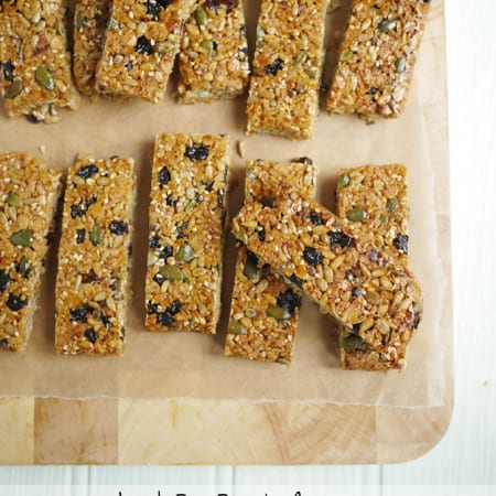 Top Bananas! Mumsnet Recipe Book Review and THE Loveliest Lunch Box Bars