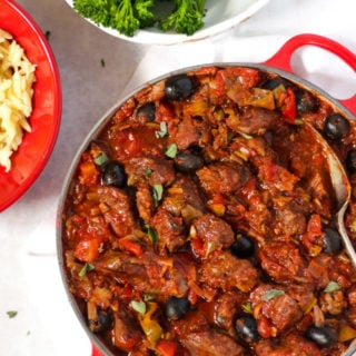 Pork Casserole Recipe – Slow Cooked Mediterranean Style Stew