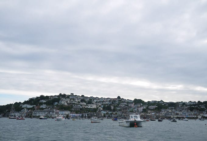 Salcombe Harbour View from the Sea