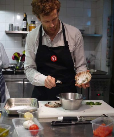 Tom Aikens Pinterest UK Event
