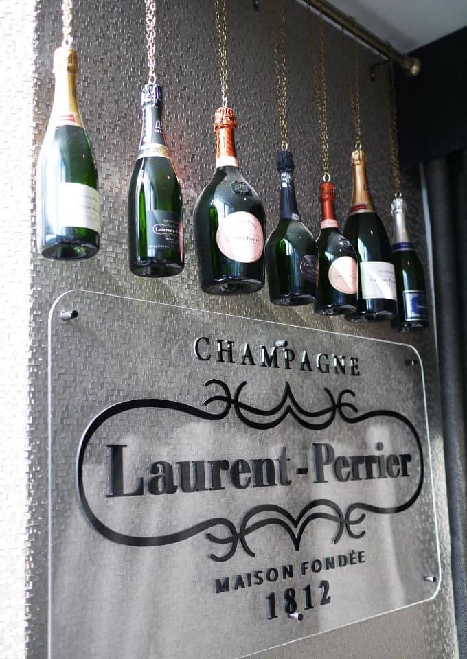 Laurent Perrier Champagne Bar Afternoon Tea The Cube Birmingham