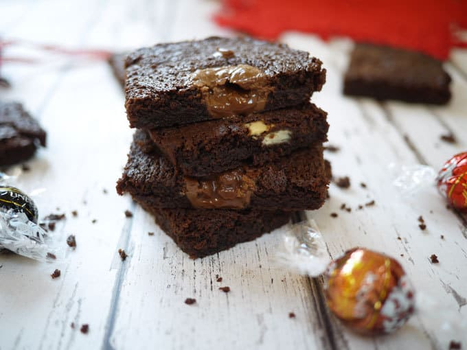 Lindt Lindor Chocolate Brownies