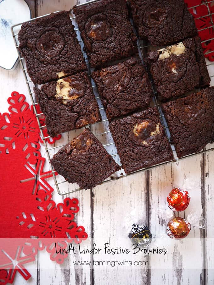 Lindor Brownies And Festive Food Friday 3
