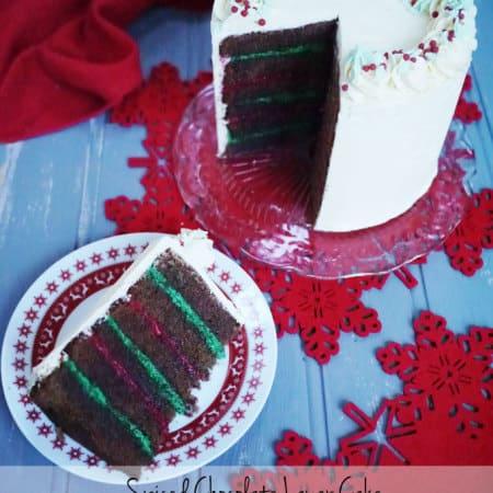 Spiced Chocolate Layer Cake