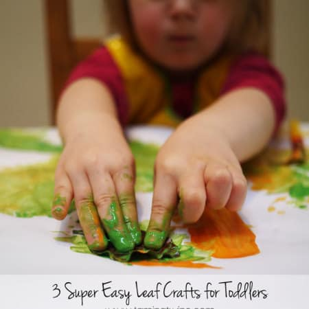 3 Autumn Leaf Crafts for Toddlers