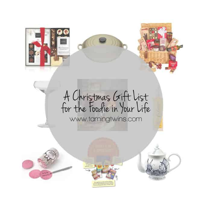 Foodie Christmas Gift List