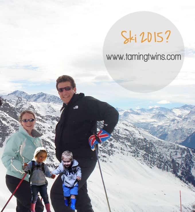TamingTwins Sking 2015
