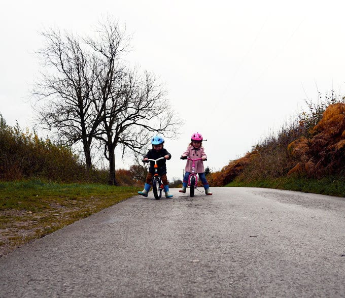 Advice for Toddler Bikes