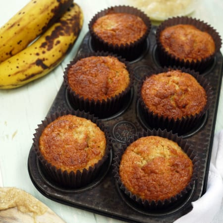 Kids Banana Cupcake Recipe