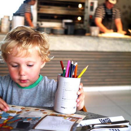 Toddler Tea Times: Pizza Express