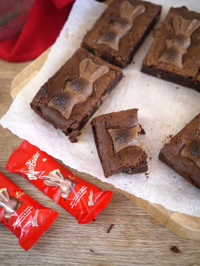 Malteaster Easter Brownies