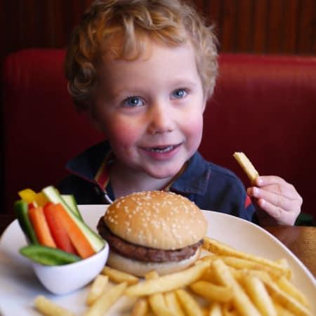 Toddler Tea Times: TGI Friday's