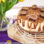 Caramel Egg Cheesecake