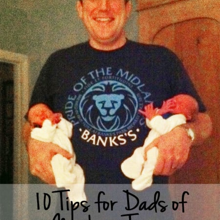 10 Tips for Dads of Newborn Twins from a Twin Dad