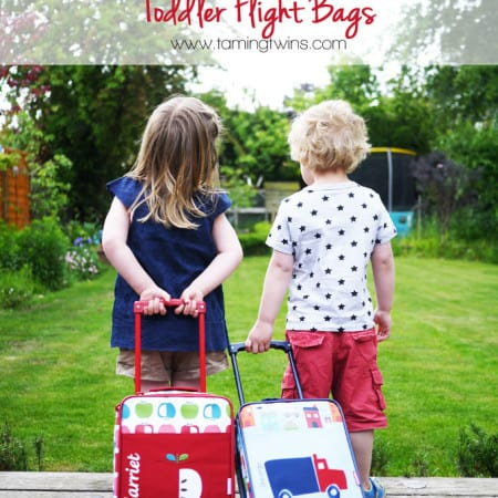 What to Pack in Toddler Flight Bags