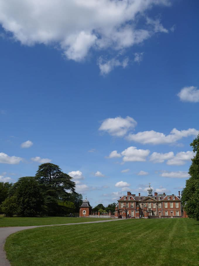 Hanbury Hall National Trust Worcestershire