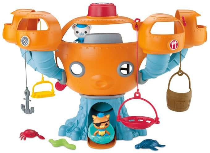 Octonauts Octopod Playset Review
