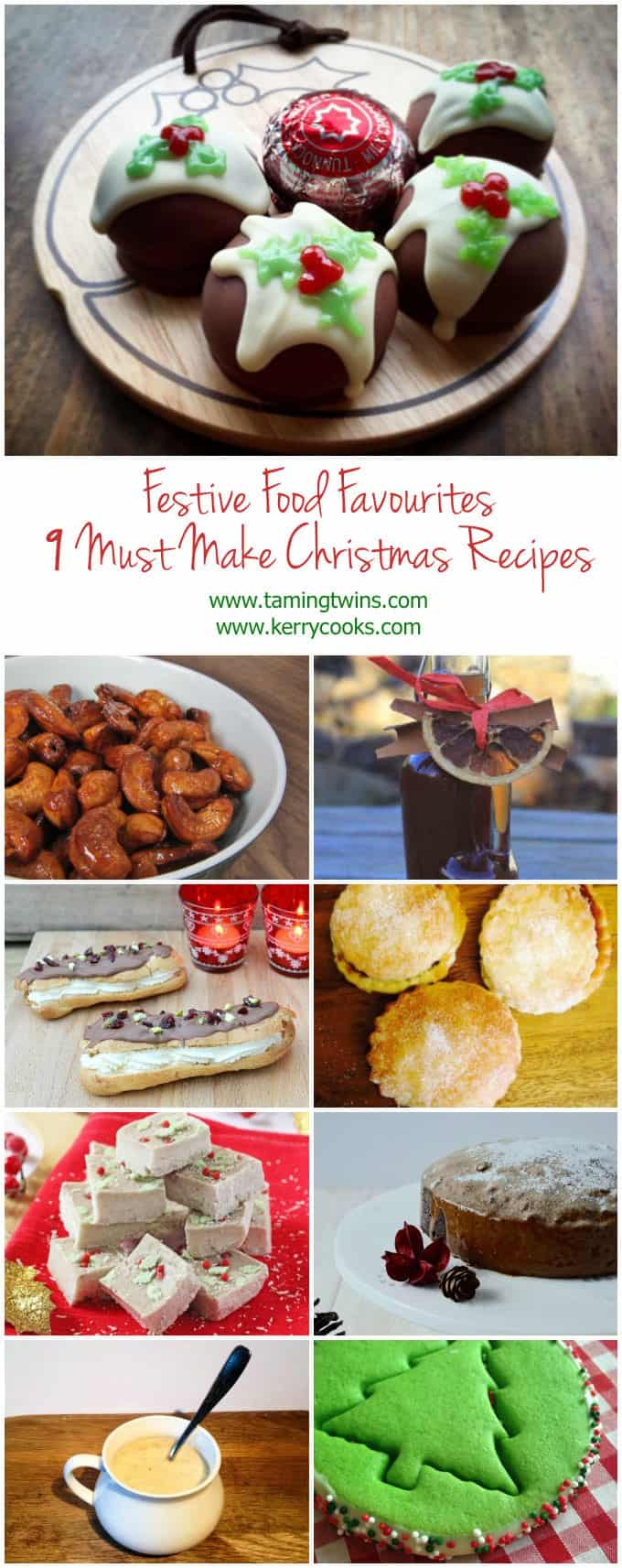 Festive Food Favourites - 9 Must Make Christmas Recipes
