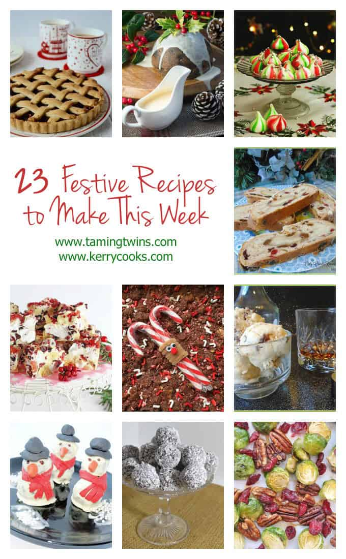 23 Festive Recipes - Perfect Christmas , holiday and festive season foodie inspiration.