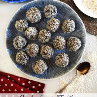 Chocolate Snowball Truffles