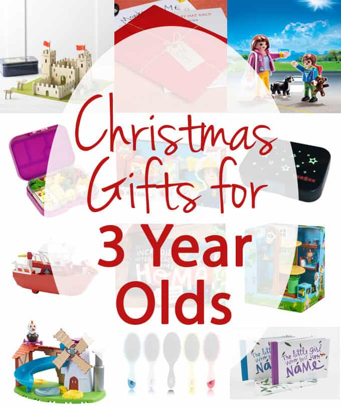Christmas Gifts for 3 Year Olds - what to buy for the tots in your life...