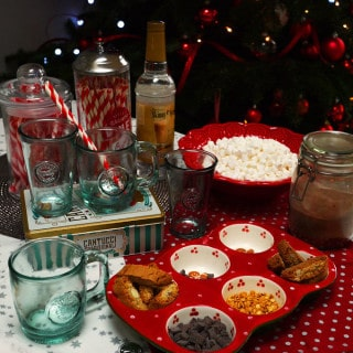 Festive Hot Chocolate Station with HomeSense