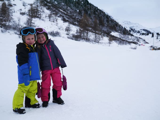 Our magical week of skiing in Obergurgl, Austria. The perfect family ski destination in Europe. https://www.tamingtwins.com