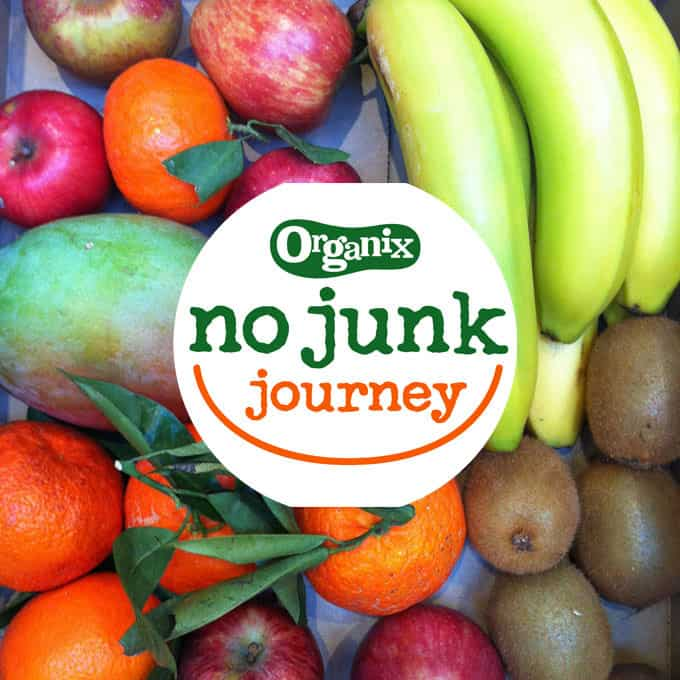 Organix No Junk Journey - A journey into eating less processed foods for our family. https://www.tamingtwins.com