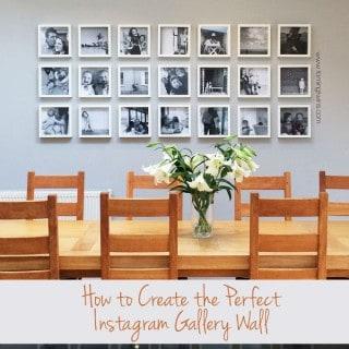 Instagram Gallery Wall Tutorial