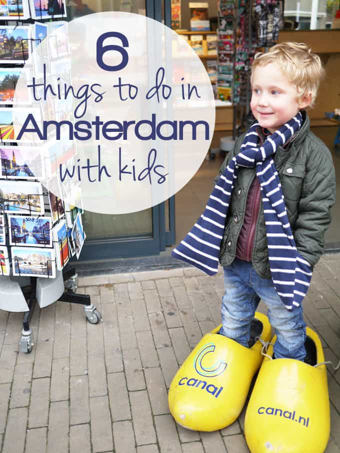 Amsterdam with Kids - 6 Things You Must Do! - Tips and tricks from locals for the ideal children's activities in the city. | https://www.tamingtwins.com