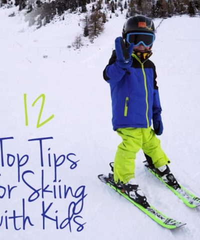 Tips for Skiing with Kids - Planning a snow holiday with children? Sharing my advice for being on the slopes with little ones. https://www.tamingtwins.com