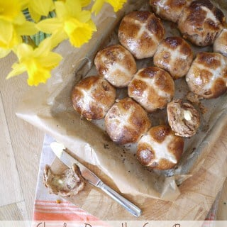 Chocolate Orange Hot Cross Bun Recipe