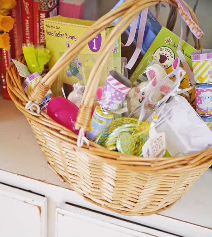 Easter Basket Ideas for Kids - Tips and advice for what to put into your Easter baskets to make something a little different for your children to celebrate the Easter holidays! | https://www.tamingtwins.com