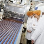 Thorntons Factory Tour - Adventures in a chocolate factory! My day visiting Thorntons in Derbyshire and learning about their chocolates. How they are dreamed up, created and produced on a huge scale. | https://www.tamingtwins.com