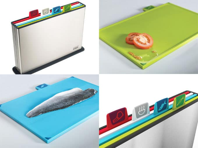 Joseph Joseph Index Steel Chopping Board Set - Win with TamingTwins.com!
