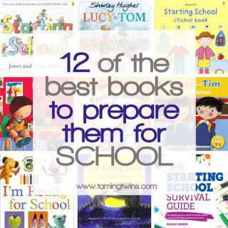 12 of the Best Books to Prepare Them for School