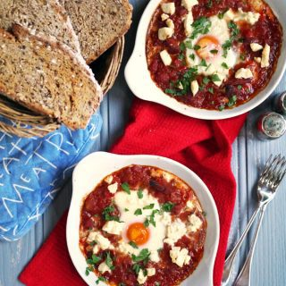Chorizo Baked Eggs Recipe