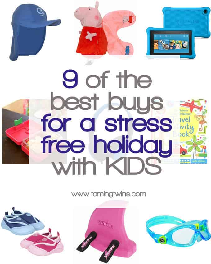 "Holidays with kids are not always easy, here are my top buys to stop those ""oh why didn't I think of that?!"" moments. Including stopping sore eyes and soggy snacks, here are the things we will definitely be packing this year!"