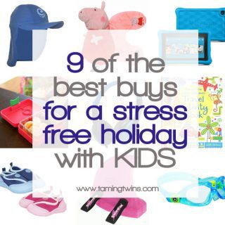 9 Best Buys for a Stress Free Holiday with Kids