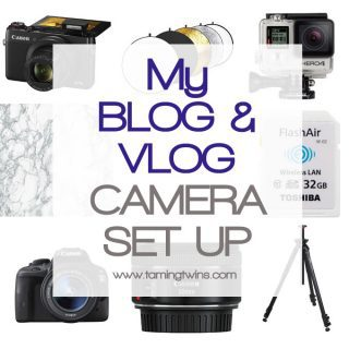 My Vlogging and Blogging Camera Set Up
