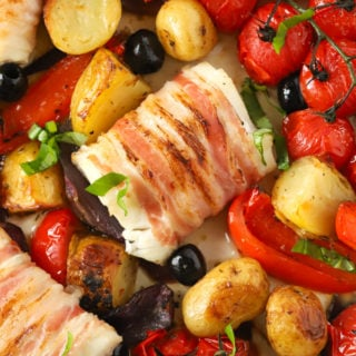 Baked Cod – Italian Style One Pan Recipe
