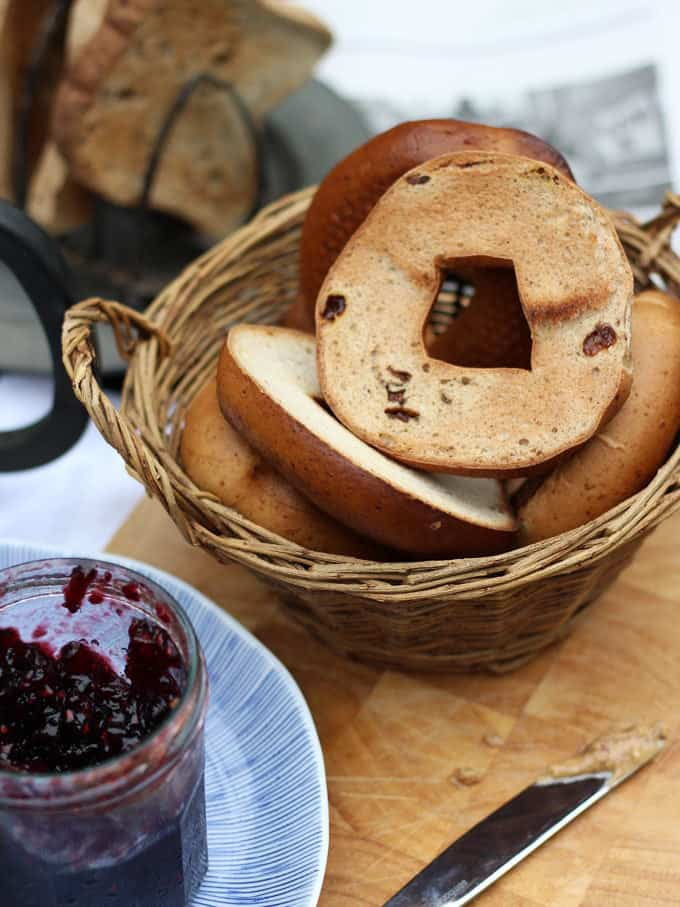 Genius Gluten Free Bread - how do their new Farmhouse Loaf and Bagels shape up? Read our review.