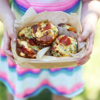 Mini Crustless Quiches Healthy Lunchbox Recipe