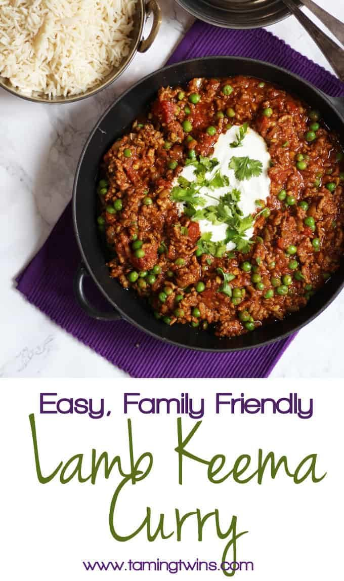 A delicious quick and easy Keema recipe. This minced lamb dish is perfect for midweek meals. This recipe for keema is one of the tastiest and easiest lamb mince recipes you will ever make. This family curry recipe also freezes well and is adaptable to use beef mince. Includes top tips for the best Keema recipe!