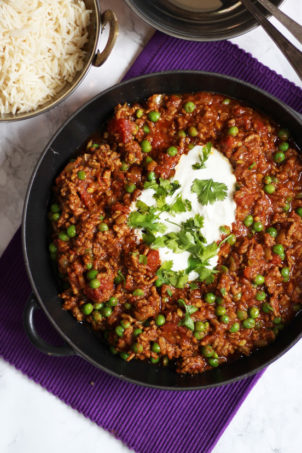 lamb mince keema curry