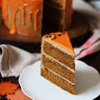 Pumpkin Spice Latte Cake Recipe