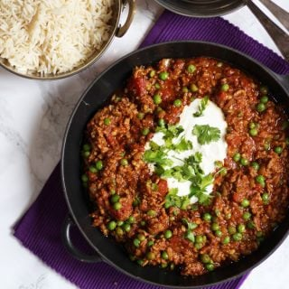 Keema Recipe – Easy Lamb Mince Keema Curry