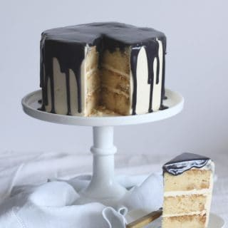 London Fog Cake – Earl Grey Tea and Vanilla Layer Cake